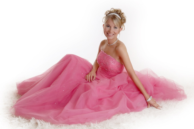 Prom Dress Makeover and model style shoot
