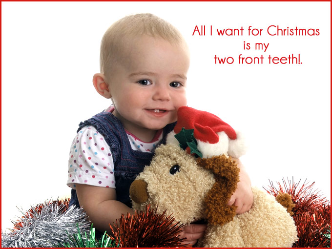 photography for christmas, children and families little girl with reindeer