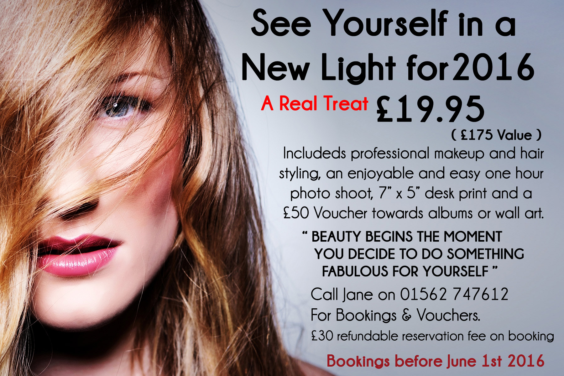 Worcestershire photographers makeover-advert-