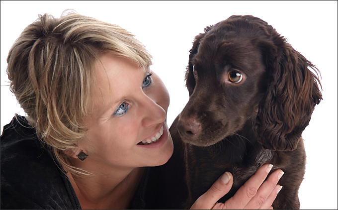 Lindsy and Vegas , yes as in Las Vegas pet portraits by Sammy Southall