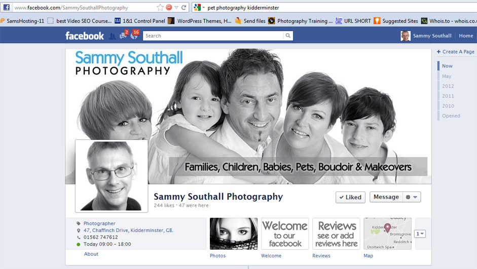 sammy southall facebook