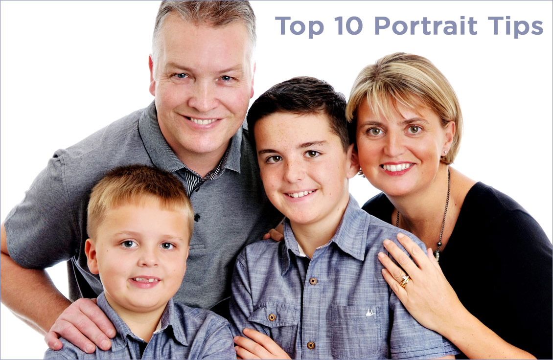 top 10 portrait tips