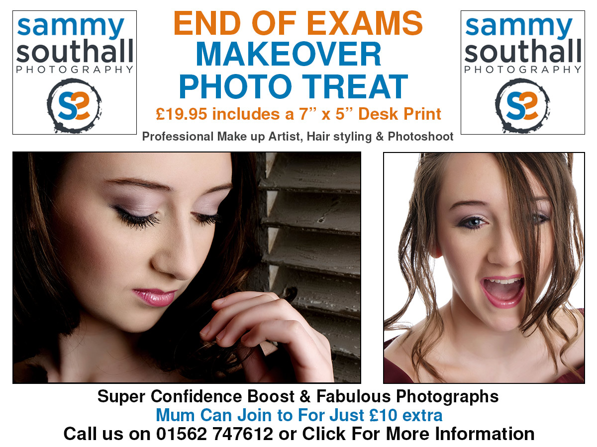 makeover photography promotion