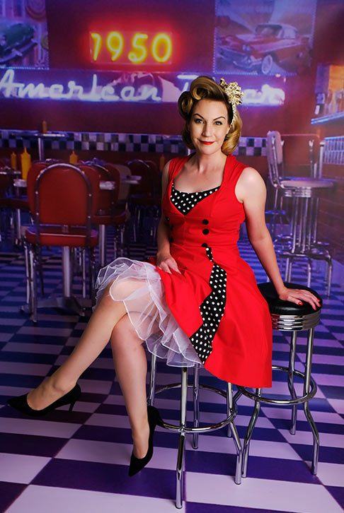 Peggy Sue Pin Ups Worcestershire Sammy Southall Photography