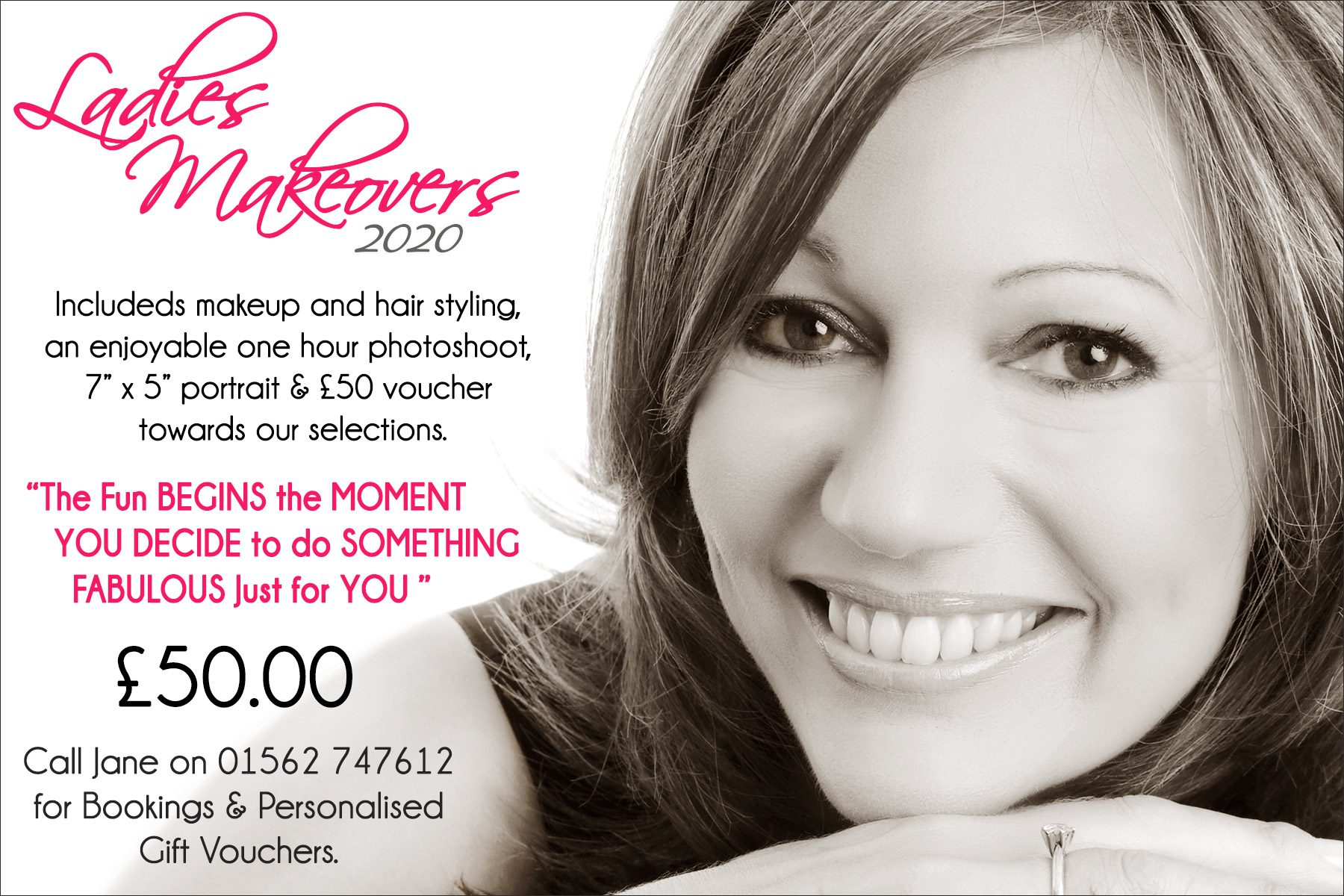 makeover photography worcestershire